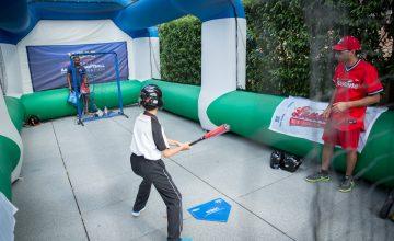 Baseball Softball in action